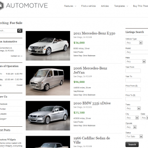 Auto Dealer Website
