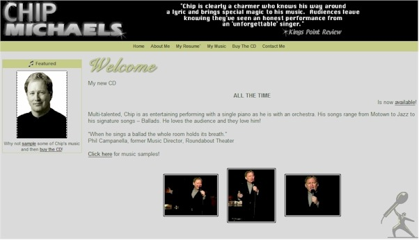 Chip Michaels Home Page